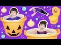 ★ハロウィンびっくら?たまご&ハロウィンモコレット★Halloween Bath ball&Halloween Candy toys★