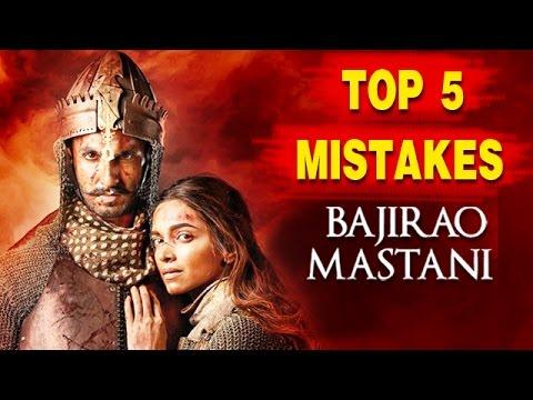 Top 5 SHOCKING MISTAKES In Bajirao Mastani...