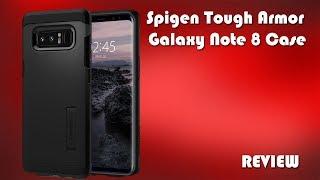 detailed look 04617 e4e07 Spigen Tough Armor Galaxy Note 8 Case Review