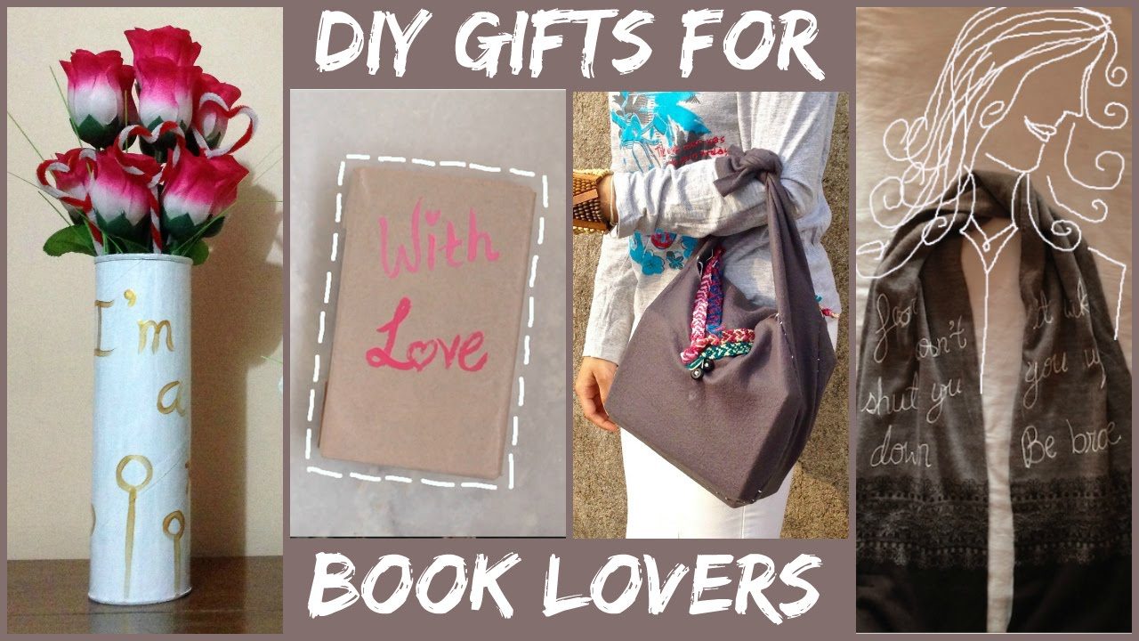 Diy Gift Ideas For Book Lovers Harry Potter Divergent