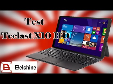 Test Teclast X10 Hd 3G: Windows 10 et Android [FR] - Belchine.net