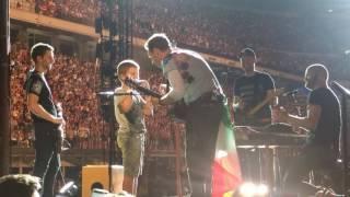 Giacomo Coldplay Milano 04/07/2017