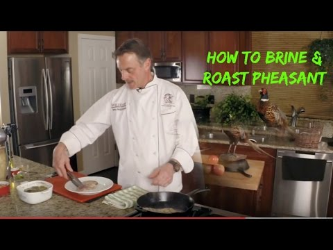 Pheasant Breast Brine And Roast With Chef John McGannon On Sporting Chef TV