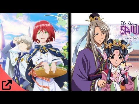 Top 5 Animes Similar to Akagami no Shirayuki-hime
