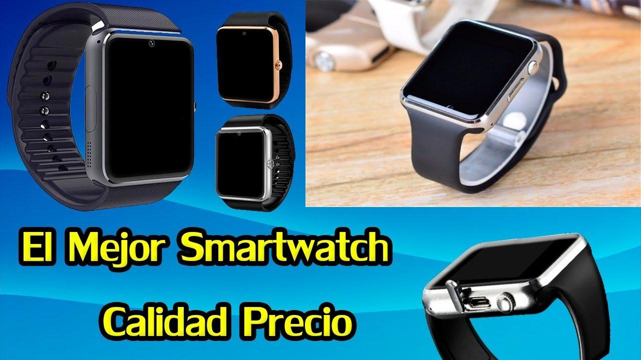 nueva estilos 57e85 acf65 El Mejor Smartwatch Que Puedes Comprar Por 12 Dolares 2018