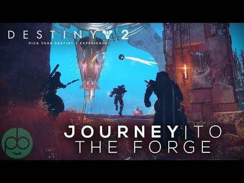 Destiny 2 Black Armory: Journey to the Forge