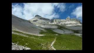 Le Grand Ferrand (2 758 m) massif du Dévoluy