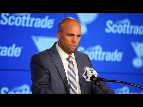 St. Louis Blues fire Mike Yeo, introduce Craig Berube as interim head coach