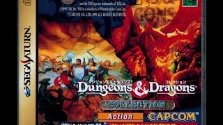 Dungeons and Dragons Collection (Mini-Review & Impressions) (Sega Saturn Japanese Import)