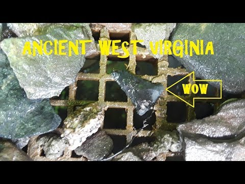 Ancient Indian Site Explored In West Virginia ARROWHEAD HUNTING History Channel