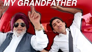 PUNJABI CARPOOL KARAOKE WITH MY GRANDFATHER!