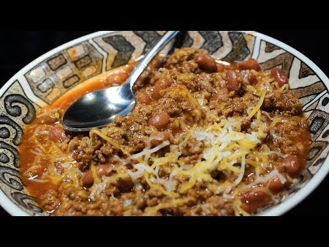 Awesome Ground Beef Chili ~ Easy
