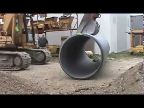 ADS 60 Inch HP TW Polypropylene Pipe Test
