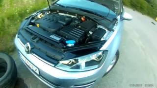 VW Golf 7 VII Заміна ламп, типи фар попереду , заміна на лед, ксенон, Led Xenon деталі.