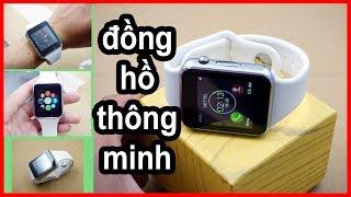 Đồng hồ thông minh Smart Watch A1, đồng hồ thông minh giá rẻ SPT Shop