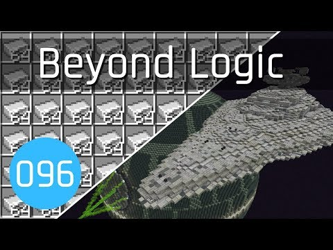 Beyond Logic #96: Star Destroyer & Iron Farm Complete! 🚀 | Minecraft 1.14
