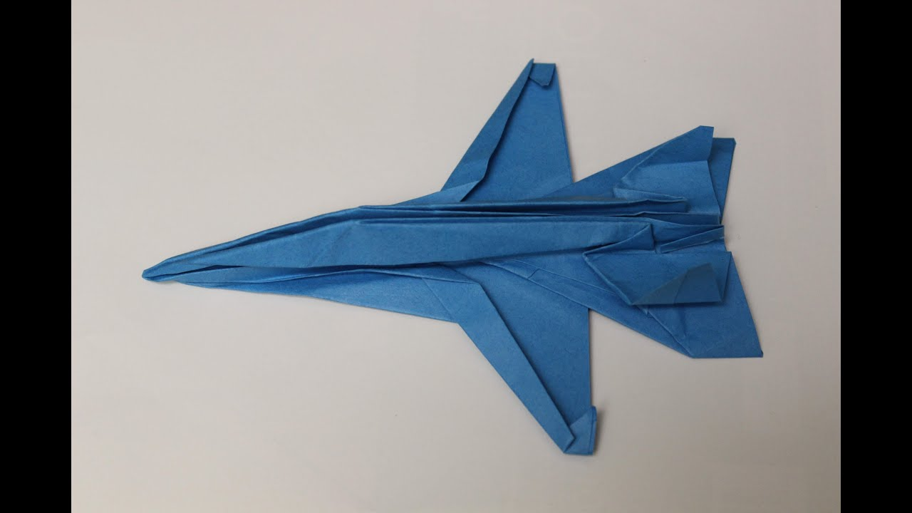 how to make a paper plane origami instruction f18 youtube rh youtube com