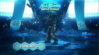 PS VITA PlayStation All-Stars Battle Royale Colonel Radec trailer