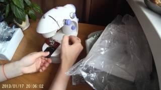 Посилка з Китаю. 60ая розпакування: Тепер я буду шити не вручну!