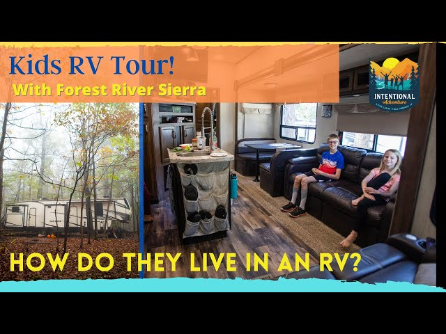 Kids RV Tour | What does it look like? | Fulltime RV Living