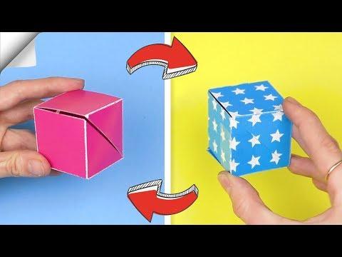 DIY crafts easy | Paper toy antistress transformer | DIY paper toys