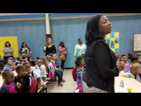 Friday mornings at Creative City Public Charter School