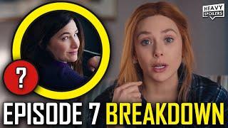 WANDAVISION Episode 7 Breakdown & Ending Explained Spoiler Review | Marvel Easter Eggs & Theories