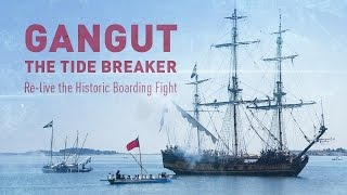 gangut the tide breaker re enactment of the first naval victory of peter the great