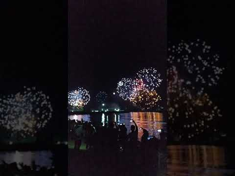 Epic Fireworks at Kite Beach Dubai #Shorts