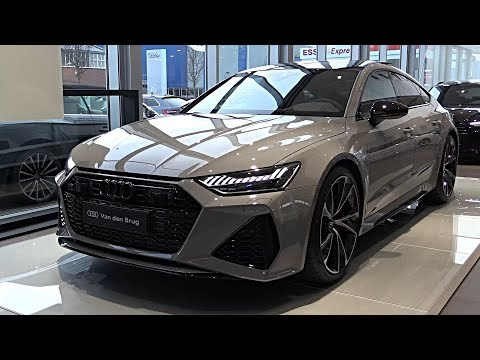 Audi RS7 Sportback 2020 - SOUND FULL REVIEW Interior Exterior Infotainment - Best Audi Yet