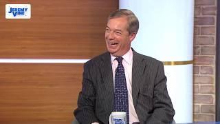 Nigel Farage on Brexit vote: It's a