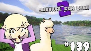 TENGO QUE SALVAR A MIS LLAMAS!   Survival con Lyna 2   Episodio 139