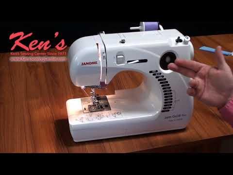 Janome Trim And Stitch 40G Sewing Machine Overview By Ken's Sewing Interesting Sewing Machine Center