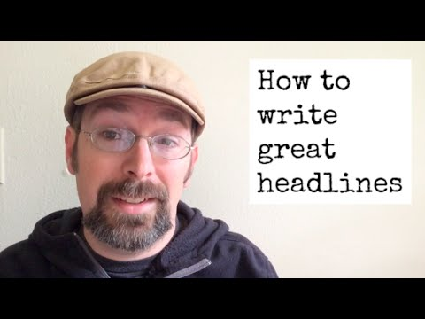 How to write great headlines / titles for max YouTube views & clicks on your links!