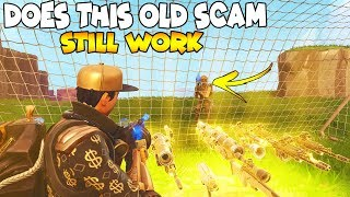 Does This OG SCAM Work Again! 😱 (Scammer Gets Scammed) Fortnite Save The World