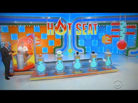 The Price is Right - Hot Seat - 9/23/2016