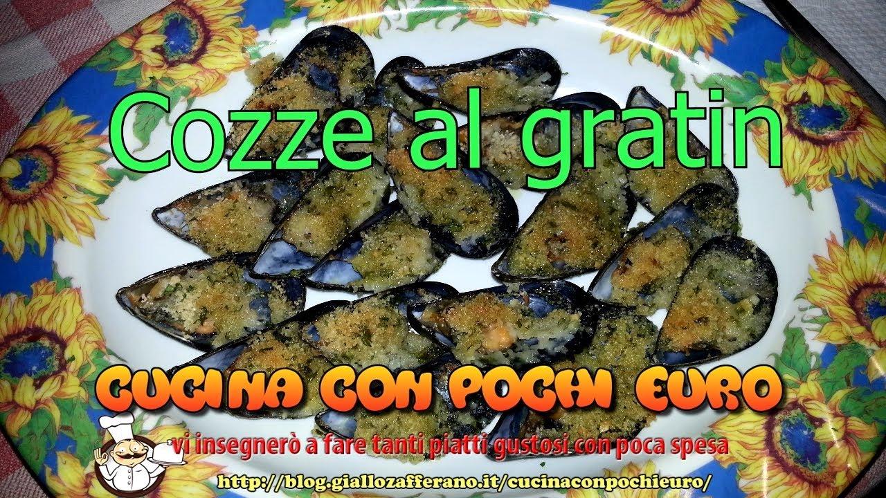 🍽 COZZE AL GRATIN / GRATINATE 🐚 CON MENO DI 5€ 💶 PER 3 PERSONE ...