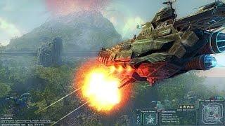 Universum War Front - New heavy battleship. Dreadnought gameplay. Air battles.