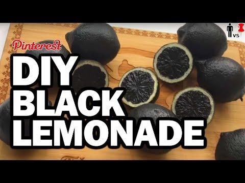 DIY Black Lemonade – Don't Try This At Home!!! Man Vs Pin
