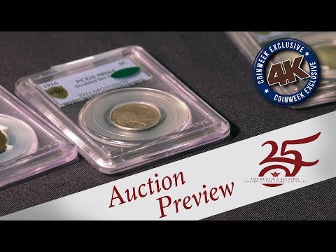 CoinWeek: Legend Rare Coin Auctions Regency 25 Sale U.S. Coins Preview