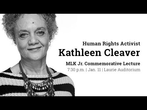 MLK Commemorative Lecture: Kathleen Cleaver