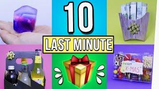 Last Minute Geschenkideen für Weihnachten / Wichteln! 10 DIY Geschenke 2018