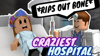 VISITING THE CRAZIEST HOSPITAL IN ROBLOX (AMUSING)