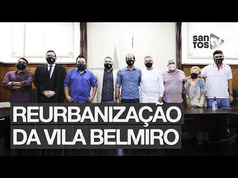 SANTOS FC E PREFEITURA – REURBANIZAÇÃO DO ENTORNO DA VILA BELMIRO