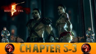 Resident Evil 5 Chapter 5-3 Uroboros Research Facility Gameplay Walkthrough [PC]