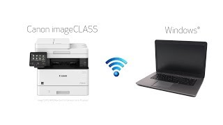 wi-Fi-Setup with a Windows PC for Canon imageCLASS