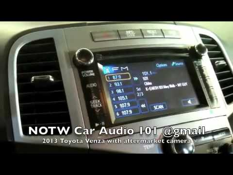 2013 toyota venza with aftermarket camera youtube swarovskicordoba Gallery