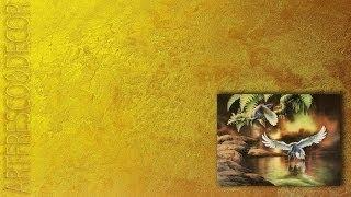 ВЕНЕЦИАНСКАЯ фреска ДЕКОРАТИВНАЯ Мастер классы ФЕССАЛОНИКИЙСКАЯ штукатурка MARMORINO Урок 11