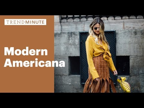 Trend Minute: Modern Americana