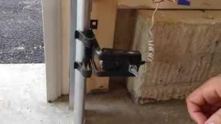 How to Fix a Garage Door Photo Eye